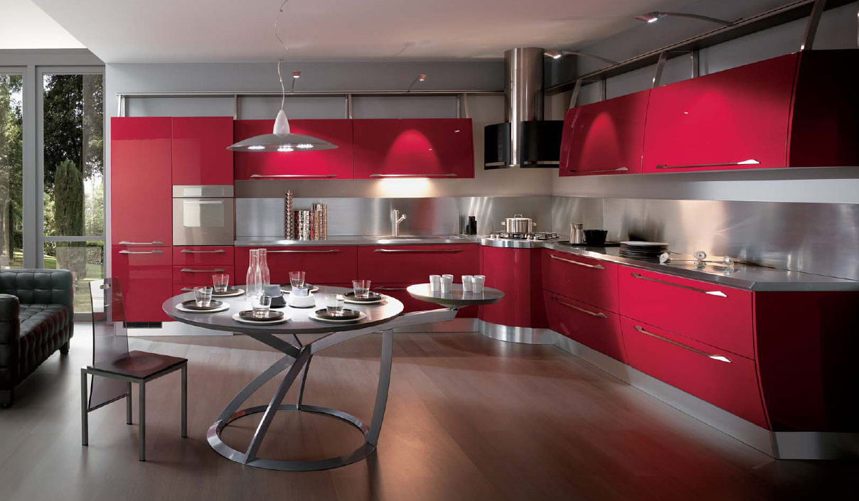 Italian kitchens from giugiaro designs for Design cucina