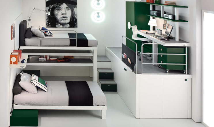 Bunk Beds And Lofts For Teenagers Vertical Home Garden