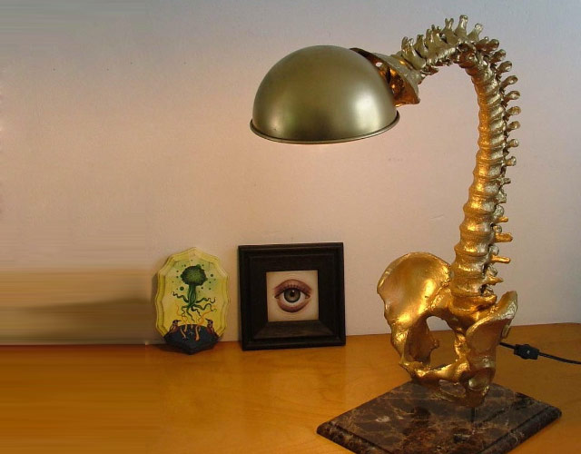 Even if you don't have a strange affinity for hospitals, you might like the  Lichtinfusion Lamp by Christain Maas.