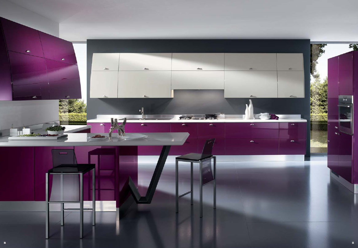 Italian kitchens from giugiaro designs for Italian modern kitchen design