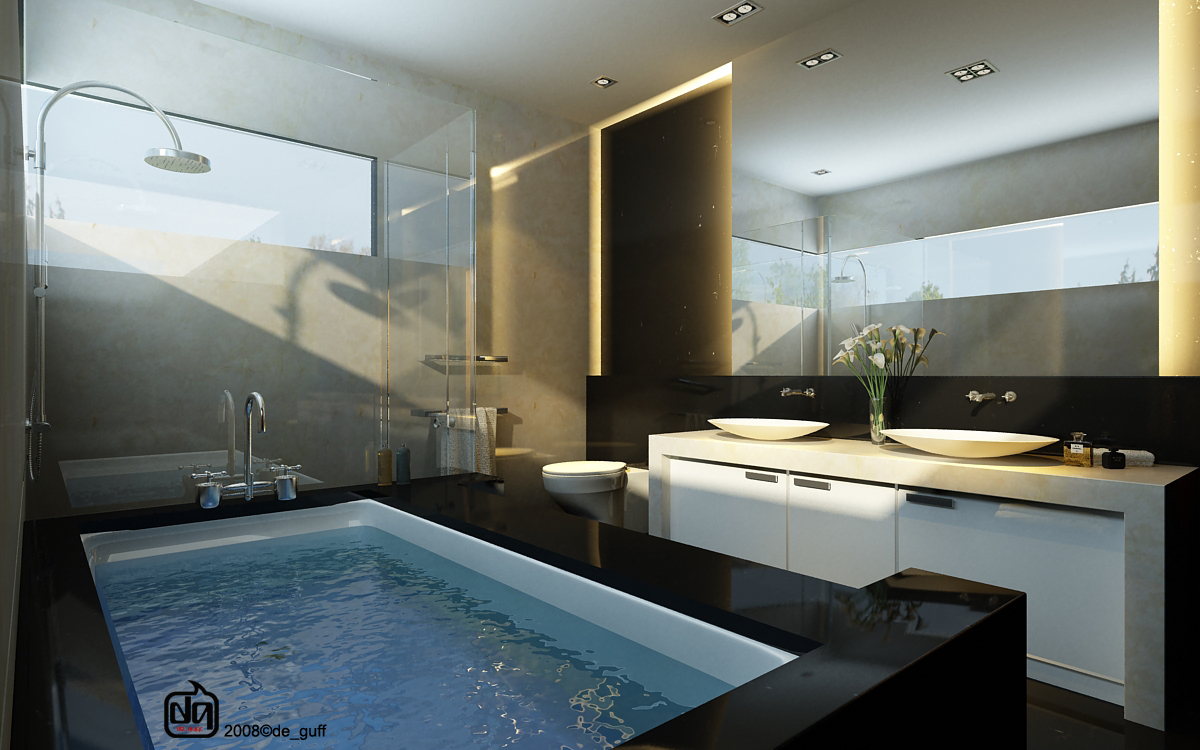 bathroom - Big Bathroom Designs