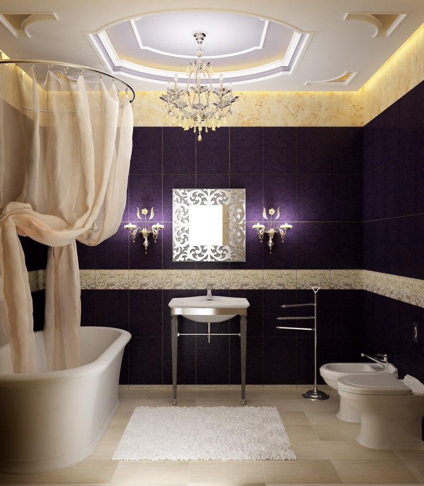 Interior decoration of bathroom - Bathroom