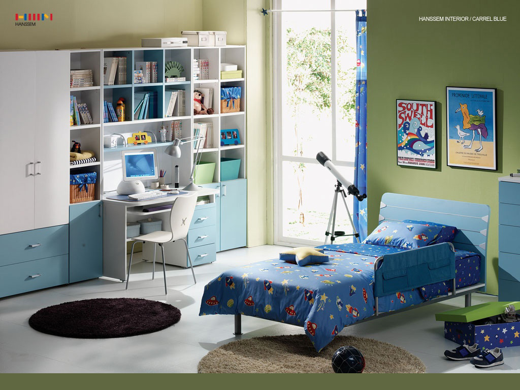 Kids room ideas and themes for Boys bedroom mural