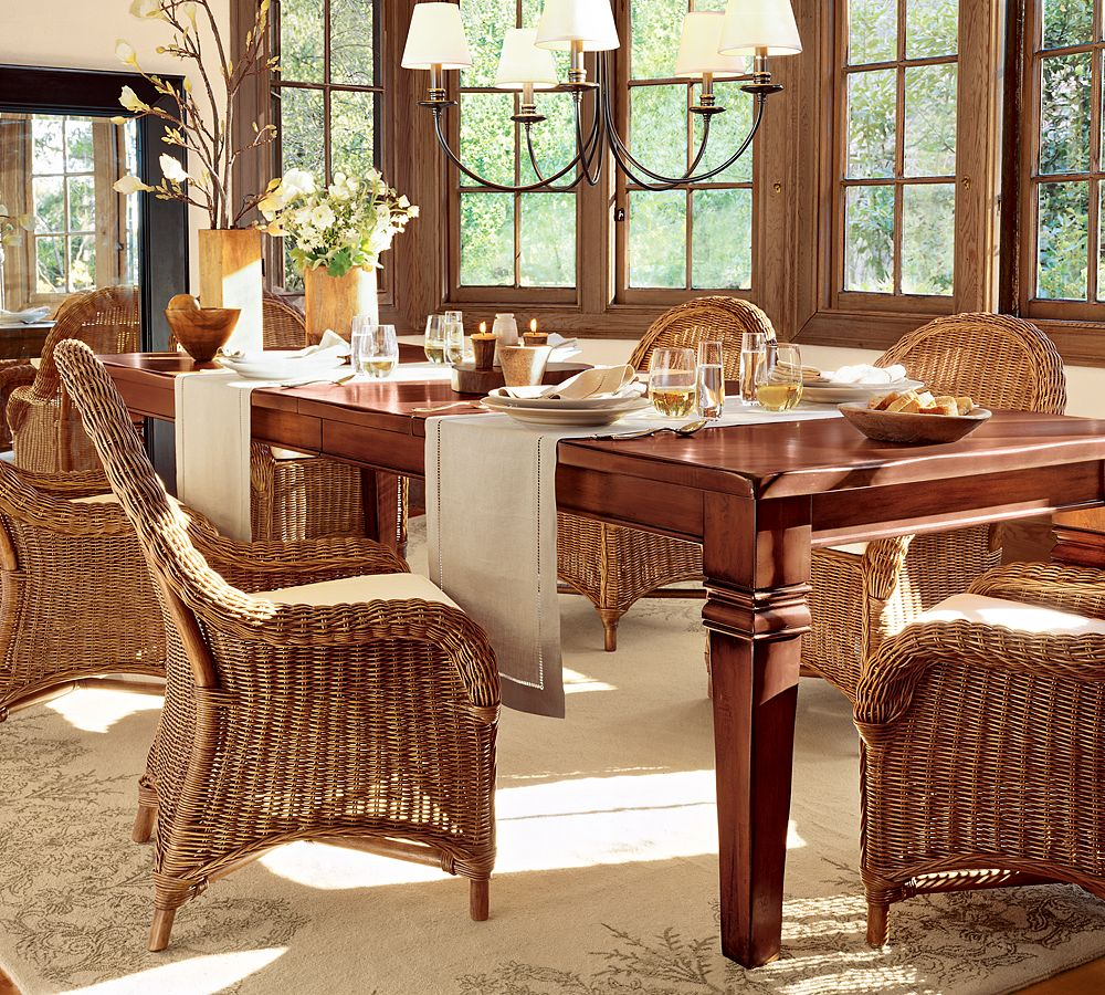 Dining room design ideas for Pictures of decorated dining room tables