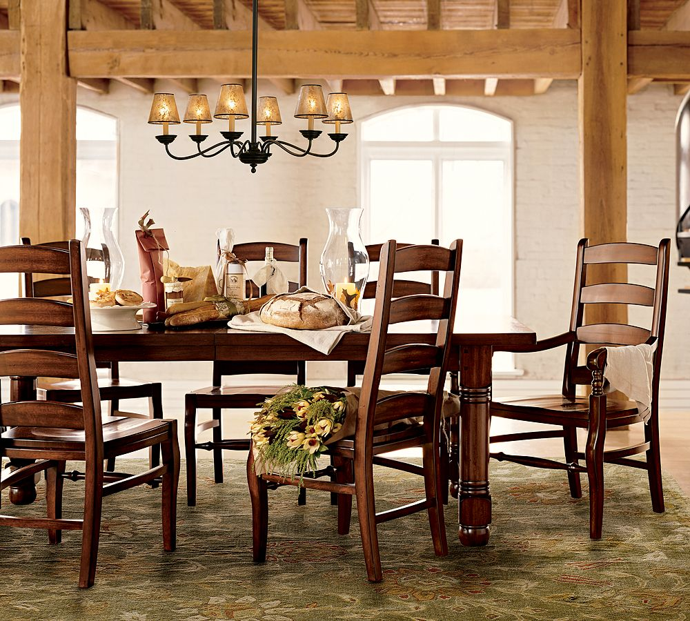 Dining room design ideas for Wood dining table decor