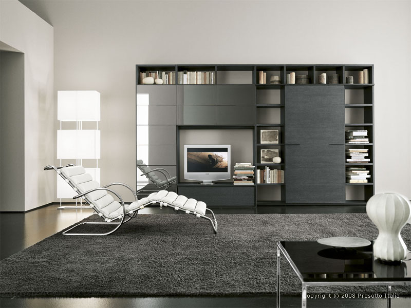 Modern living room design furniture pictures for Cool modern living rooms