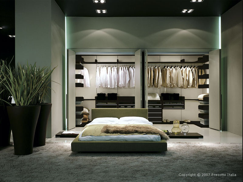 Walk in wardrobe designs and modular walk in wardrobe furniture - Designs for wardrobes in bedrooms ...