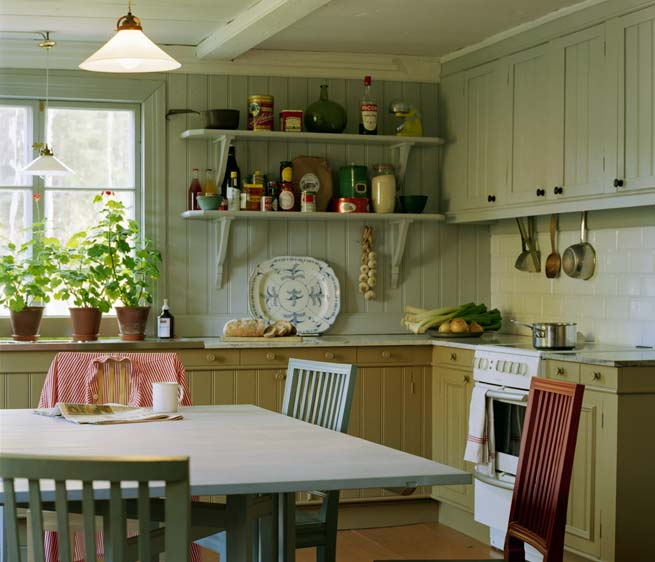 Scandinavian kitchens - Stylish cooking ...