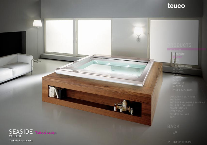 Modern bathtub designs for Bathroom soaking tub ideas
