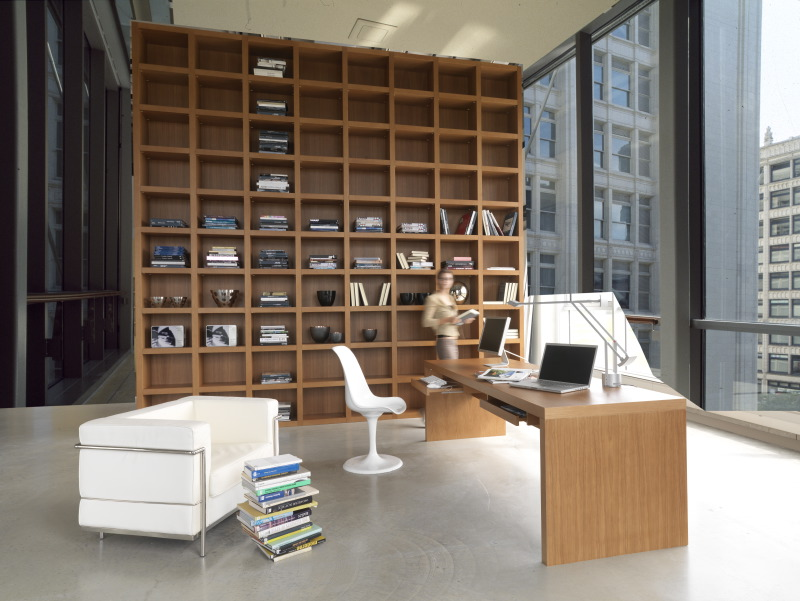 Bookshelves Design bookshelf as room focus in interior design