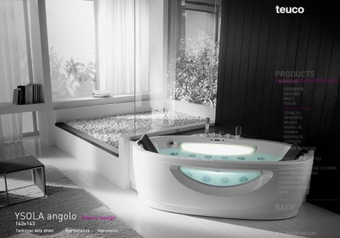 Bath tub design