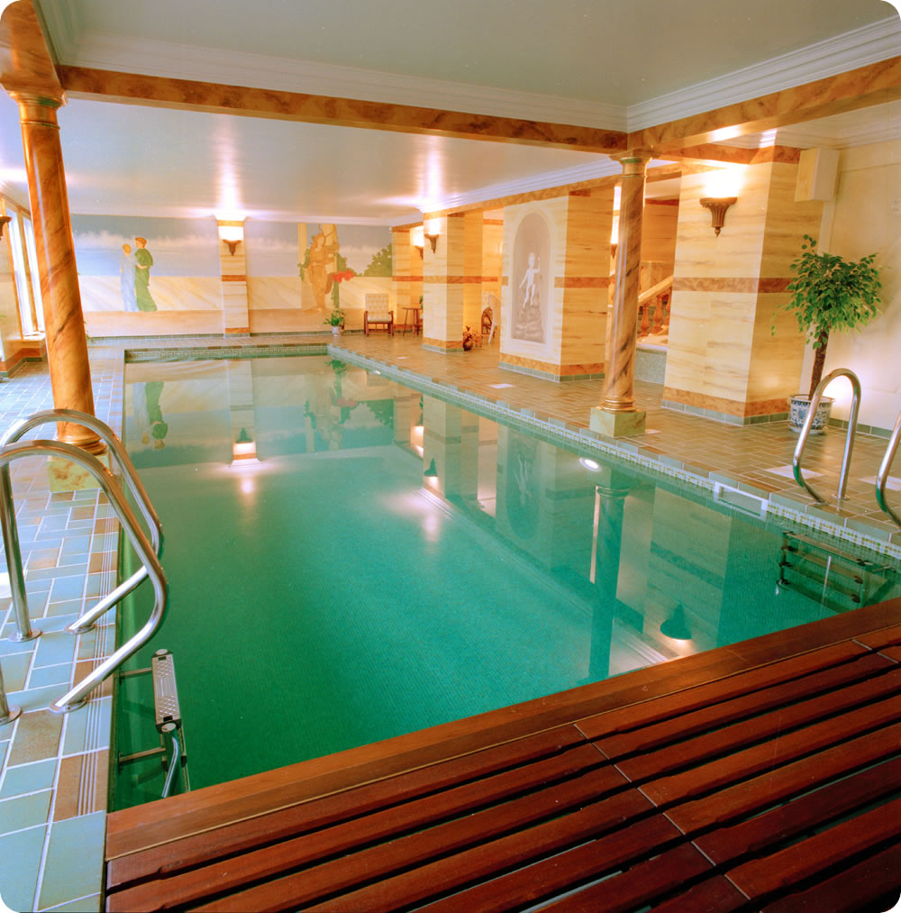Indoor pools for Fancy swimming pool designs