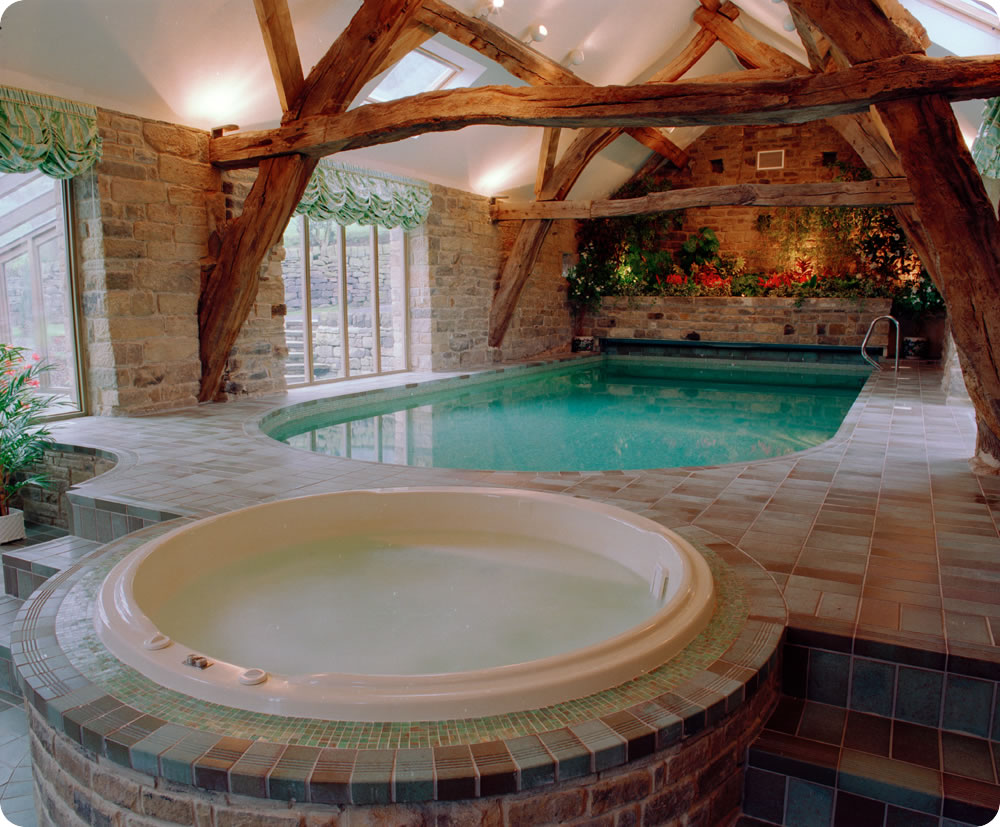 Indoor pools for Spa and pool