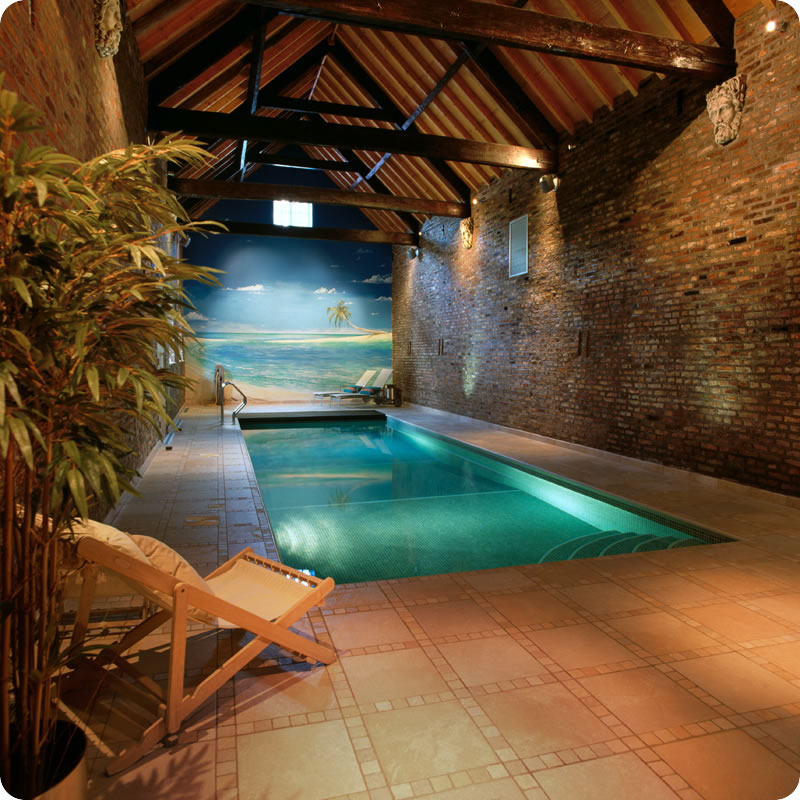 Indoor pools for Home piscine