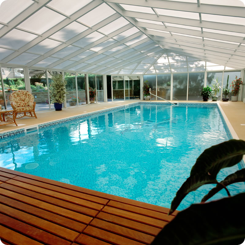 Indoor pools - Covered swimming pools design ...
