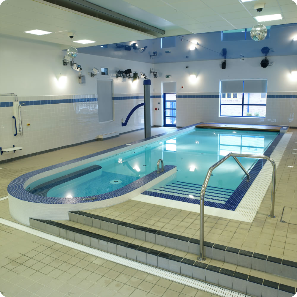 Indoor pools for Pool equipment design