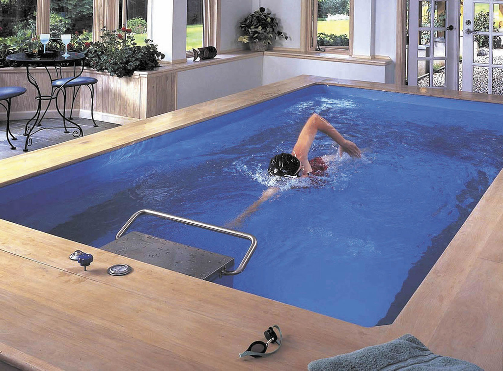 Indoor pools for Domestic swimming pool design