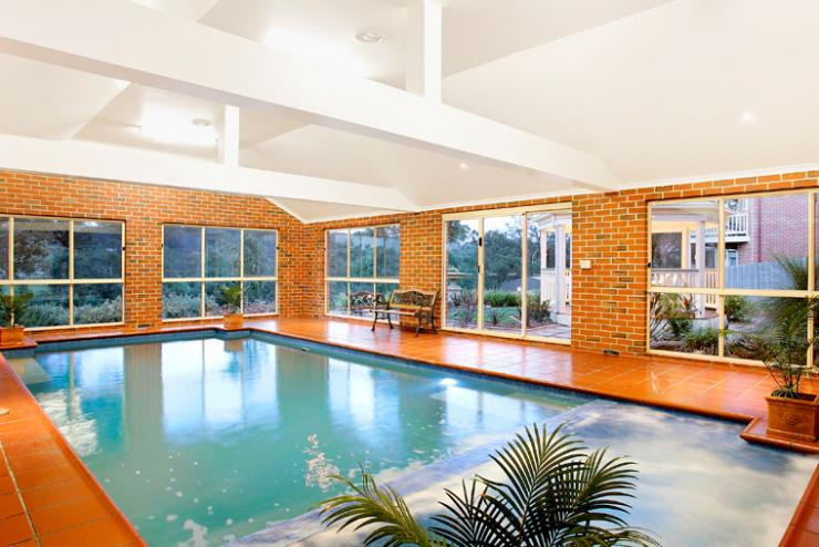 Indoor Pools In Homes Alluring Indoor Pools Decorating Design
