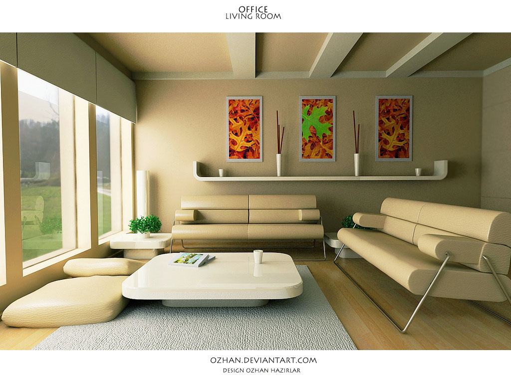 Living room design ideas for Trendy living room decor