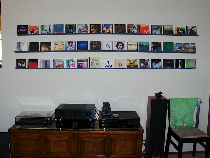 Charmant Cd Storage On Wall