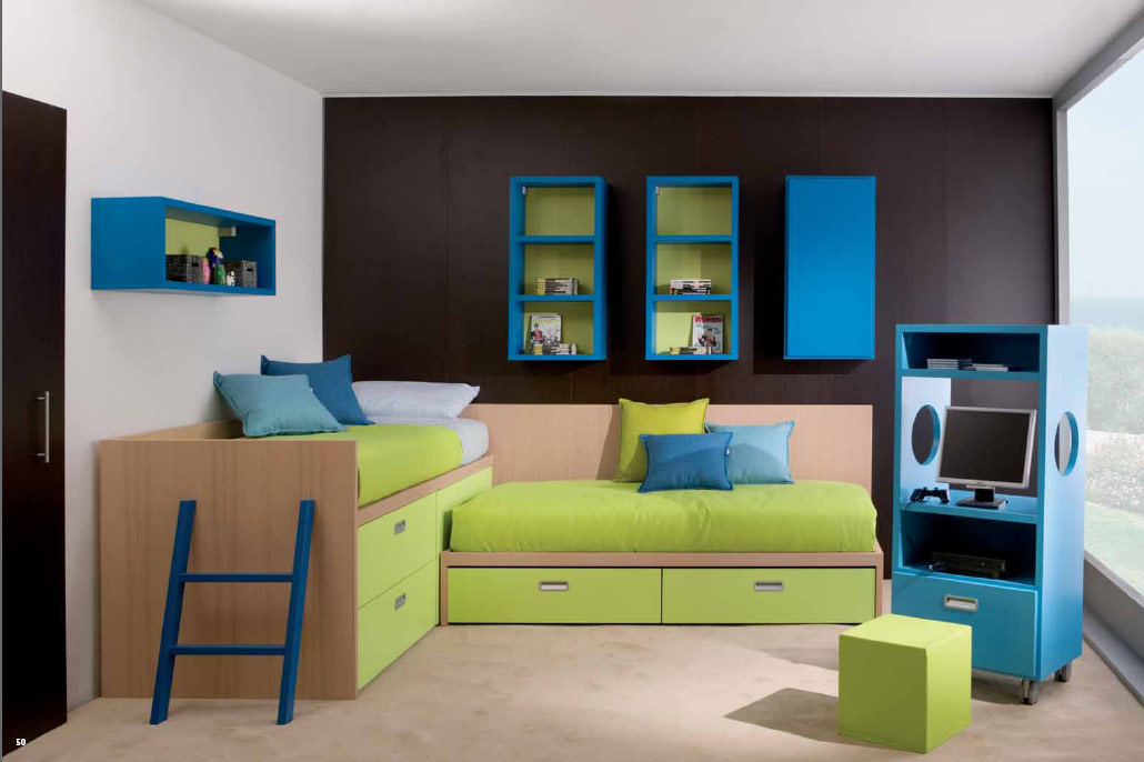 Kids room design ideas for Cool small bedroom ideas
