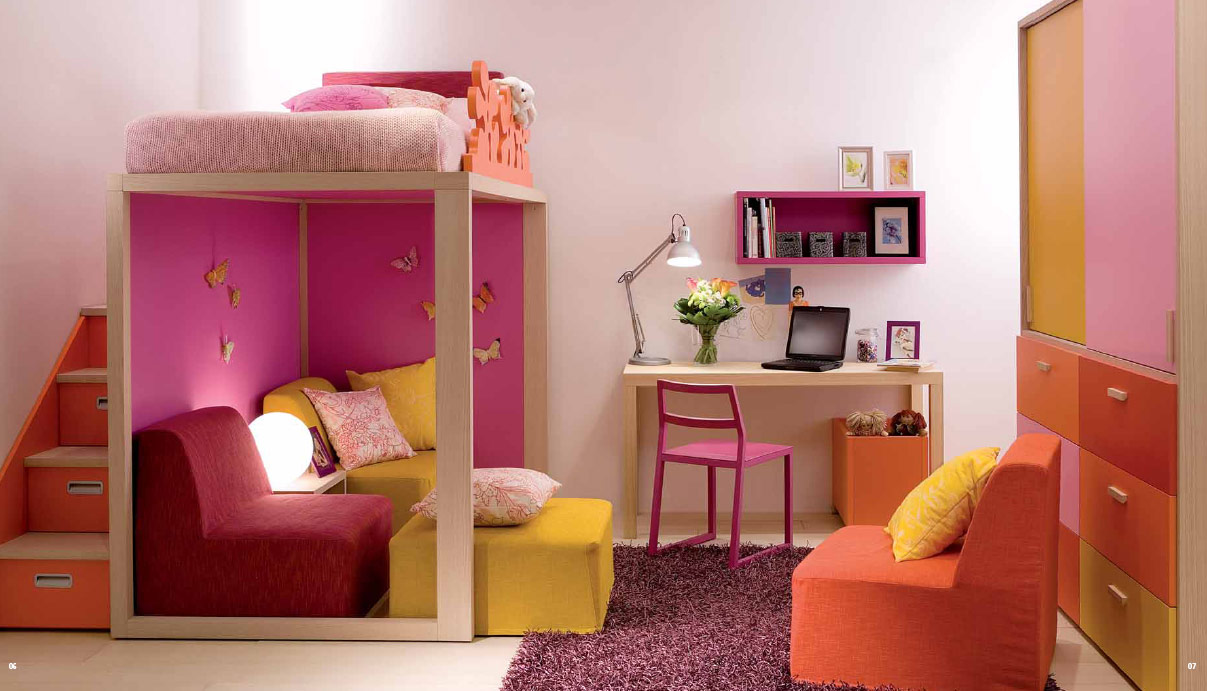 Kids room design ideas for Older girls bedroom designs