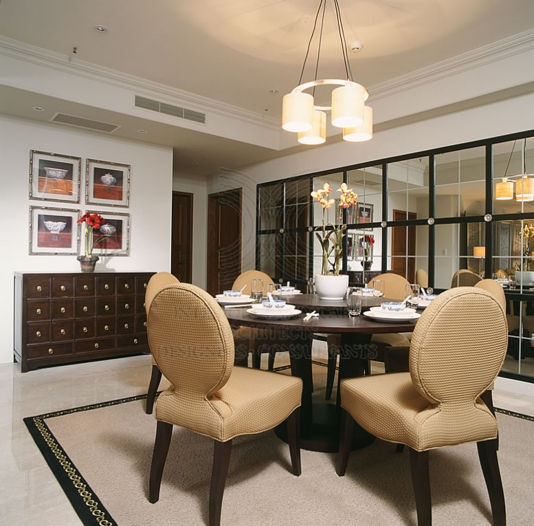 interiores oriental Dining rooms from the Orient