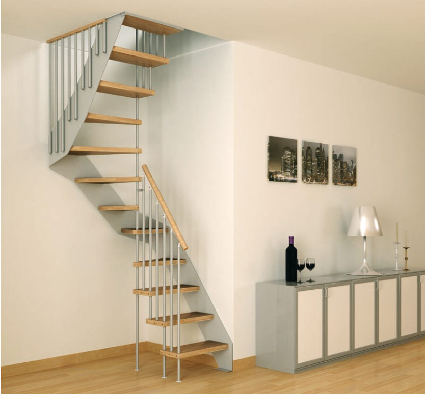 Inspirational stairs design for House design for small spaces