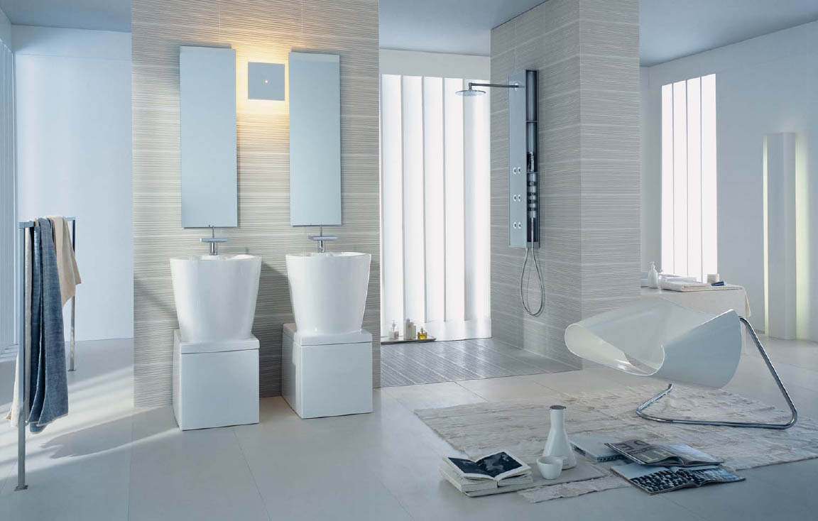 Bathroom design ideas from hansgrohe