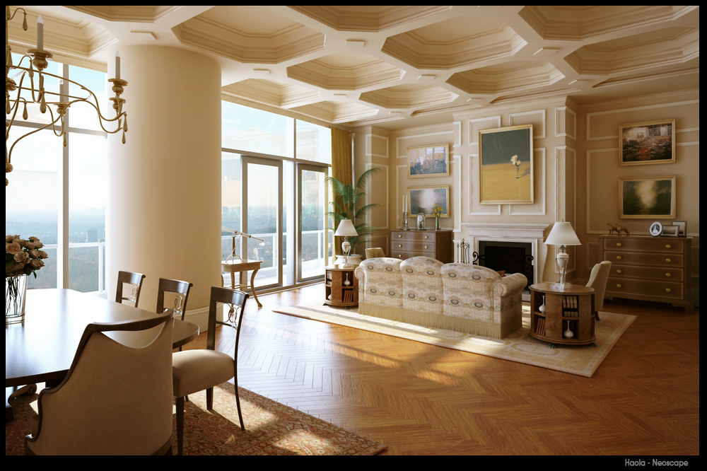 Classic interior design - House interior designs ...