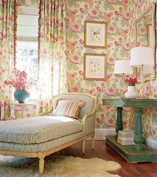 Decorative Wallpaper For Living Room : Room wallpaper designs