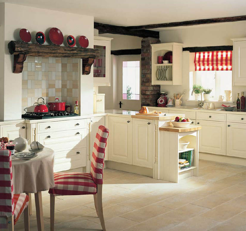 country style kitchens - Country Style Kitchen Designs