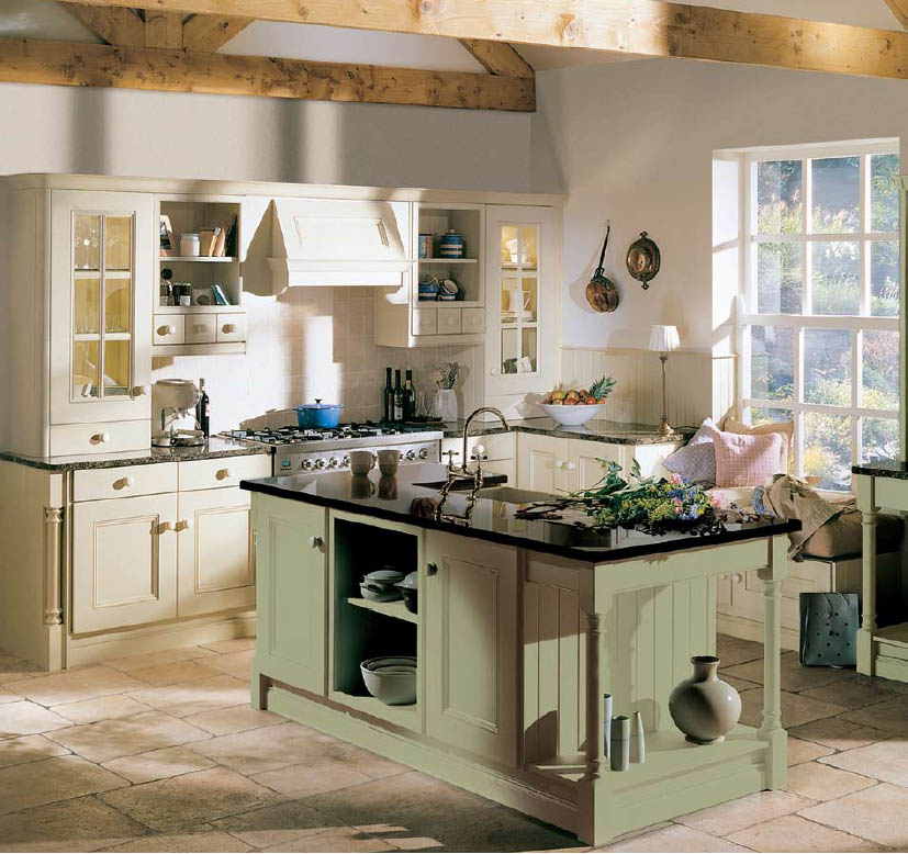 english country style kitchens - Country Style Kitchen Designs