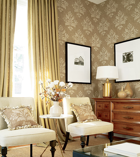 Wallpaper For Rooms Extraordinary Room Wallpaper Designs
