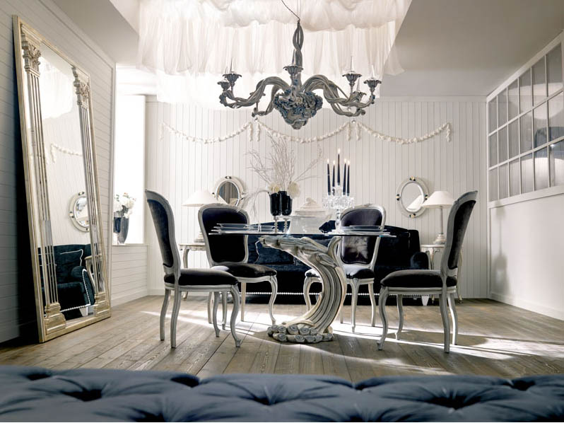 Italian interior design for Modern classic furniture