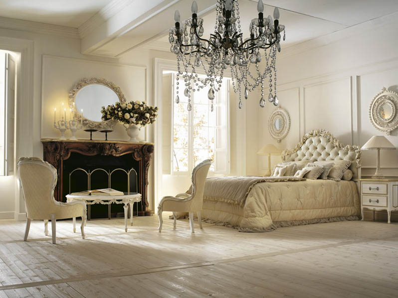 Italian interior design for Classic design style