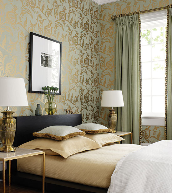 Amazing Gold Wall Bedroom Decorating Ideas 550 x 620 · 99 kB · jpeg