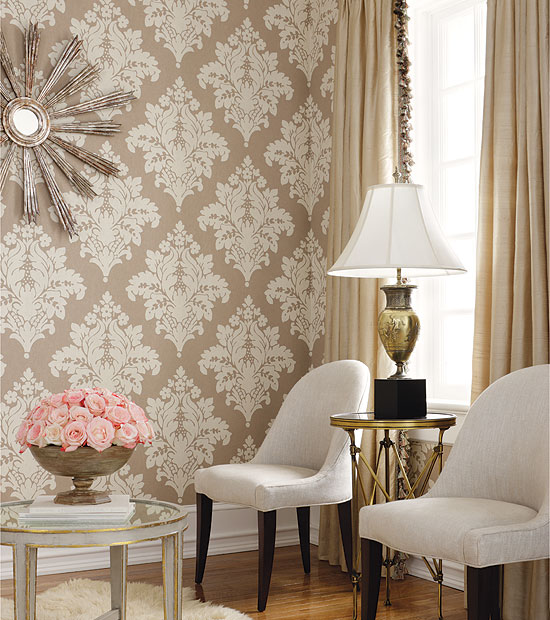 Room wallpaper designs for Wallpaper dining room ideas