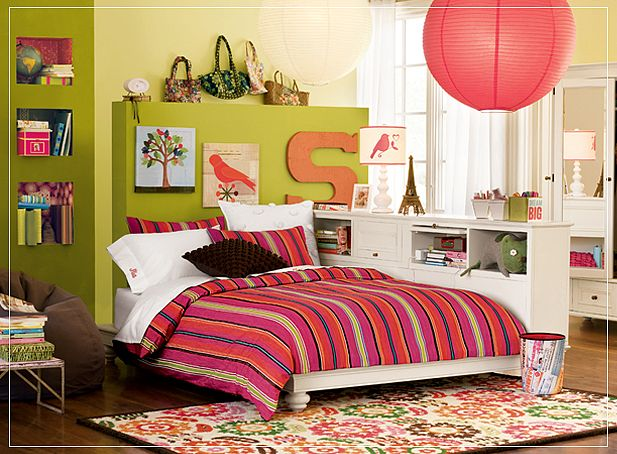 Teenage Girl Room Ideas Designs creative bunk loft above study desk in teen girls bedroom design ideas Teen Girl Room Ideas