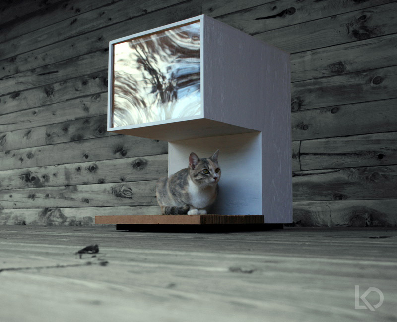 cathouse ultramodern - Cat Room Design Ideas