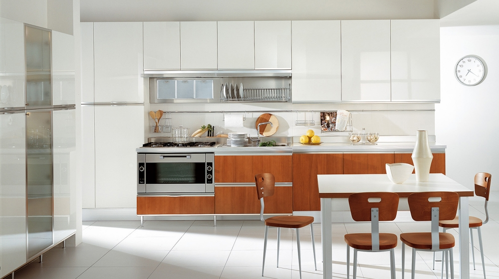 Modern italian kitchens for Italian kitchen cabinets