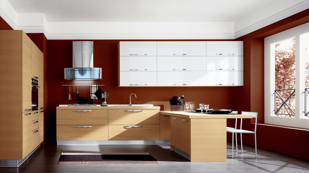 More Modern Italian Kitchens on traditional interiors kitchens luxury home