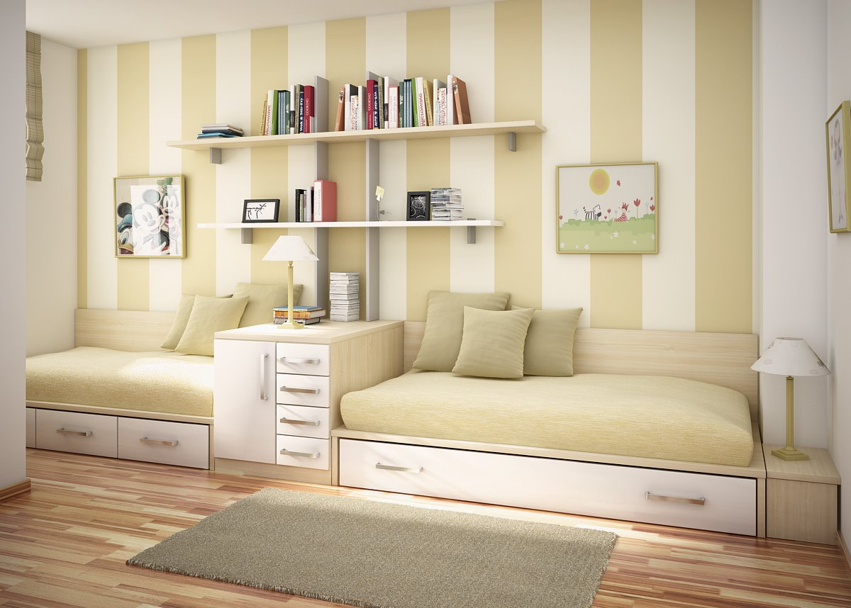 Bedroom designer for kids - Green Kids Room