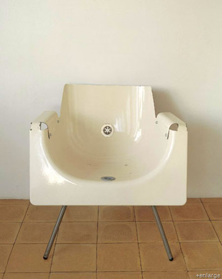 recycled-bath-tub-chair