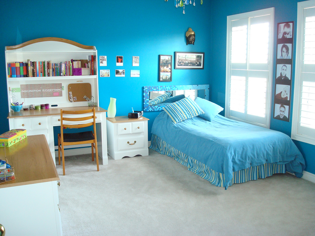 Great Blue Teenage Girls Bedroom Paint Ideas 1024 x 768 · 400 kB · jpeg