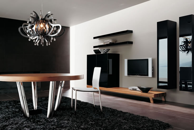 Wall Designs For Tv Room : Modern wall units from momentoitalia