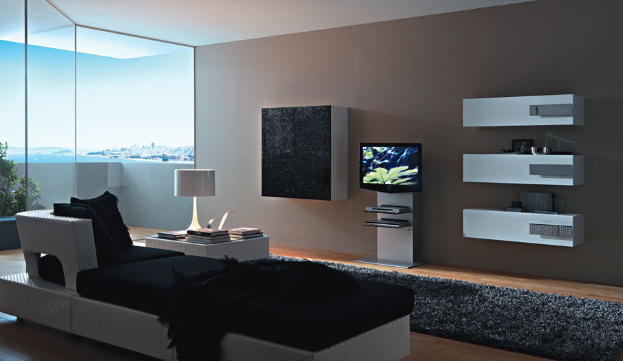 Modern Wall Unit modern wall units from momentoitalia