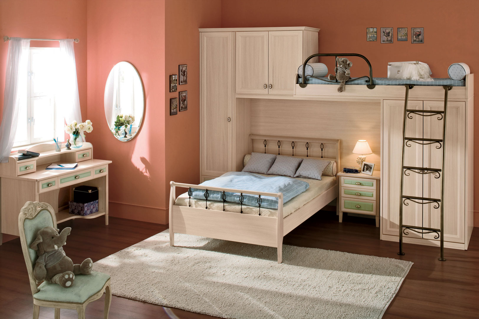 Kid 39 s rooms from russian maker akossta for Classic room design