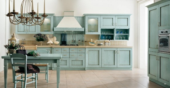 Classical Italian kitchens