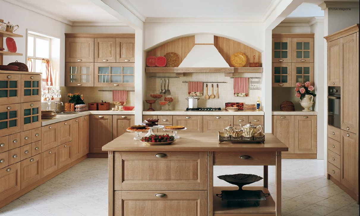 Classical style kitchens from stosa for Classic style kitchen ideas